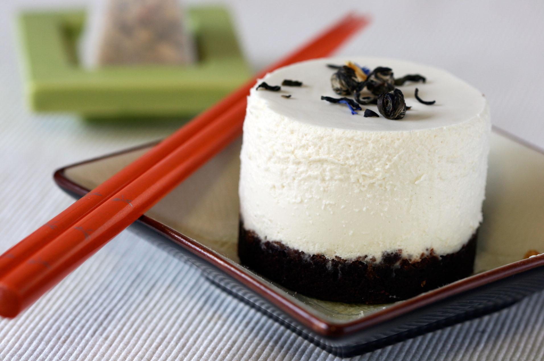 Chocolate Jasmine Tea Cake