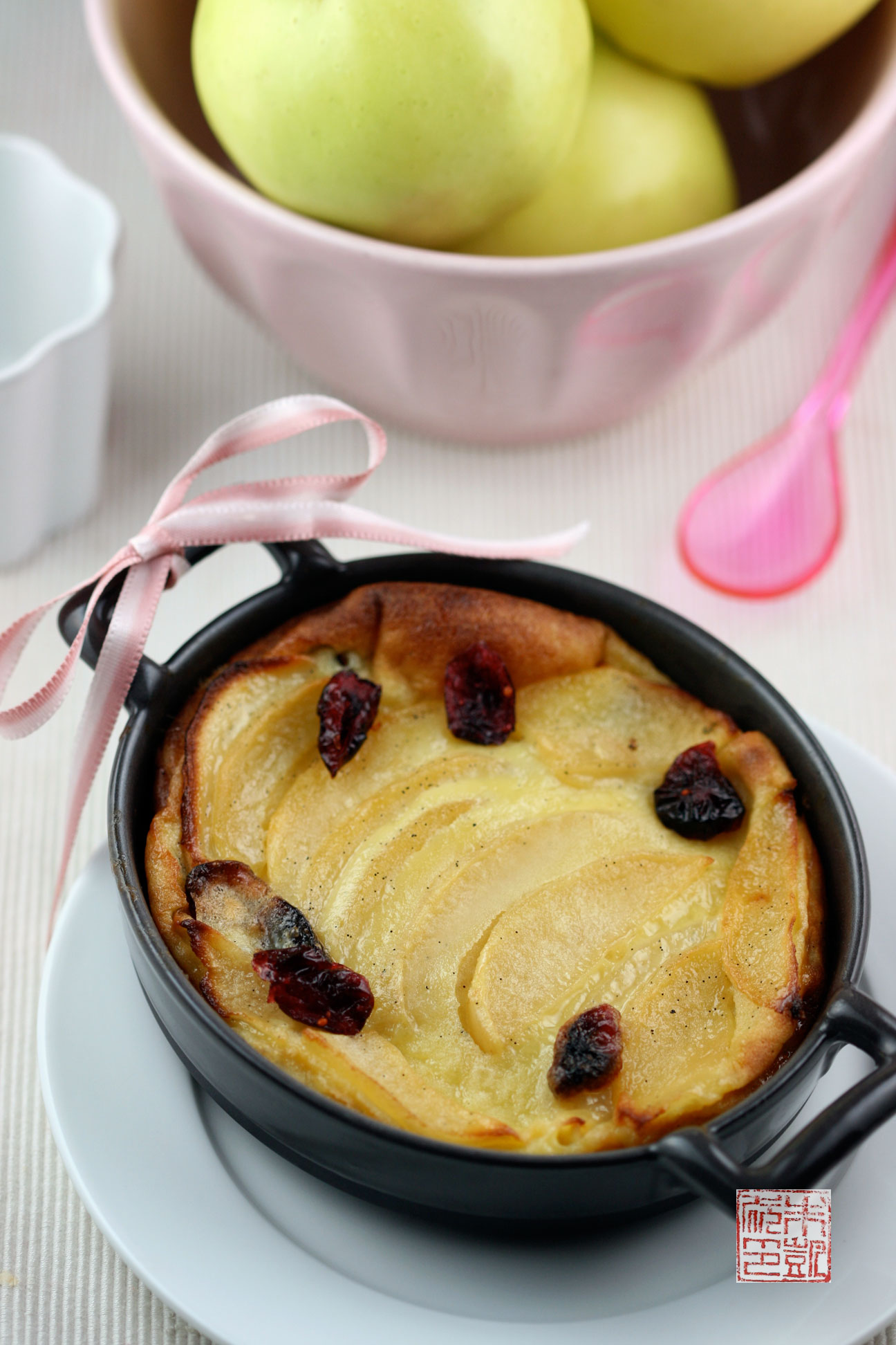 A Clafouti For Chilly Days: Apples, Cranberries, and ...