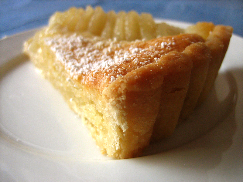 Pear and Almond Frangipane Tart - Dessert First